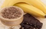 Как быстро избавиться от кашля – рецепт с какао и бананом