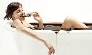 Шоколадная ванна – польза для красоты и здоровья