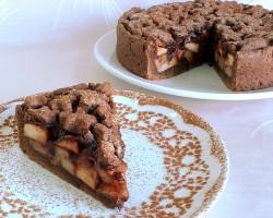 Тонкости приготовления шарлотки с яблоками и шоколадом