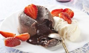 Лучший рецепт брауни с жидким шоколадом внутри