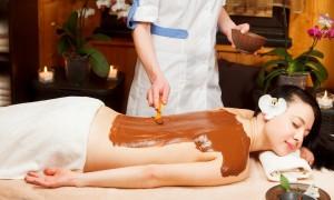 Польза и специфика шоколадного массажа