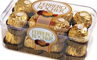 Итальянские конфеты Ферреро Роше
