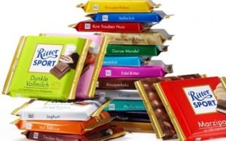 Лучшие вкусы немецкого шоколада Риттер Спорт