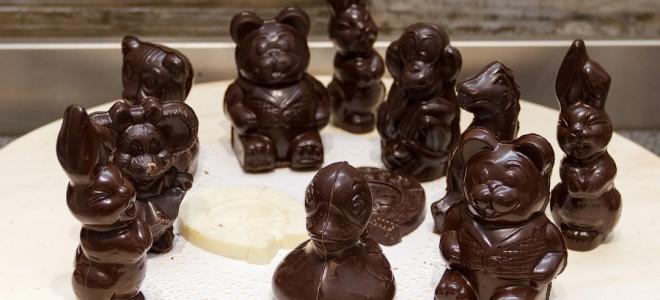 Оригинальные фигурки из шоколада своими руками