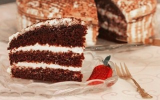 """Оригинальный торт """"Шоколад на кипятке"""""""
