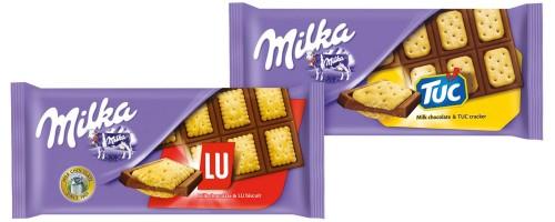 Особенности брендового шоколада Милка с печеньем