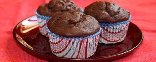 Шоколадно-банановые маффины – лучшие рецепты