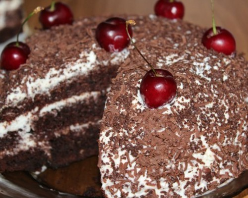 Лучший рецепт приготовления торта шоколад на кипятке в мультиварке