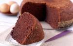 Приготовление бисквита шоколад на кипятке для десертов