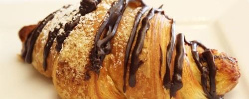 Как приготовить слойки из слоеного теста с шоколадом