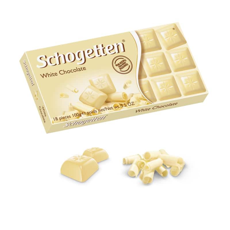 Белый шоколад шогеттен