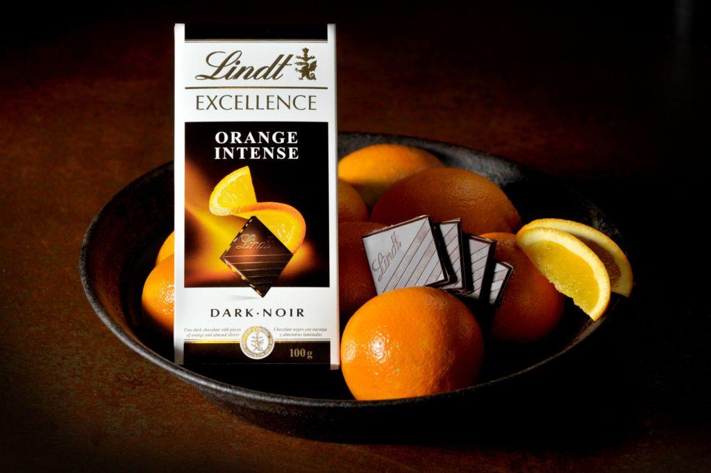 Шоколад линдт апельсин