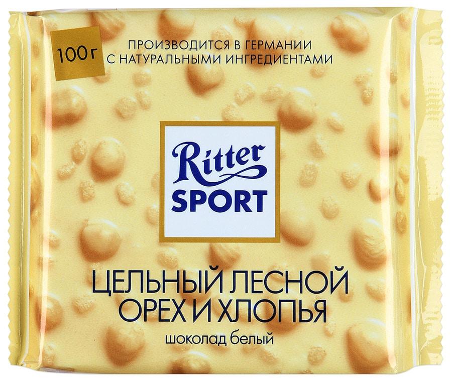 Белый шоколад с орехом