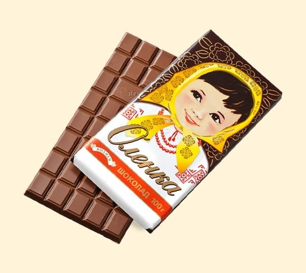 Украинский шоколад Аленка