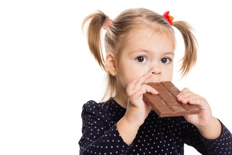 Шоколад детям