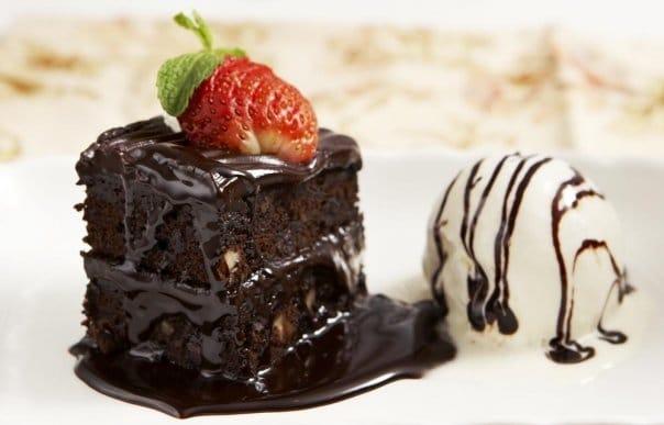 Брауни десерт
