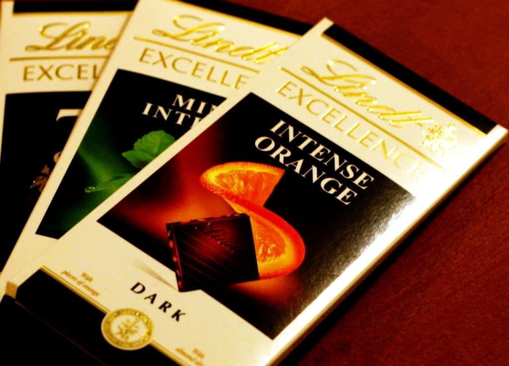 Шоколад Линдт