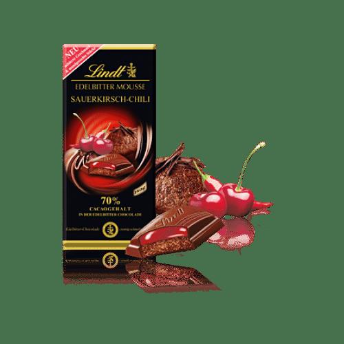 Шоколад линд с вишней