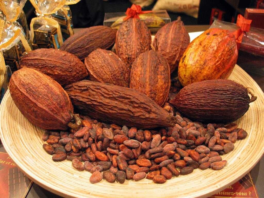 Какао-бобы из Ганы