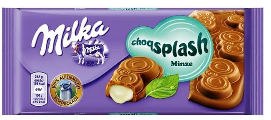 Milka Choqsplash Mint