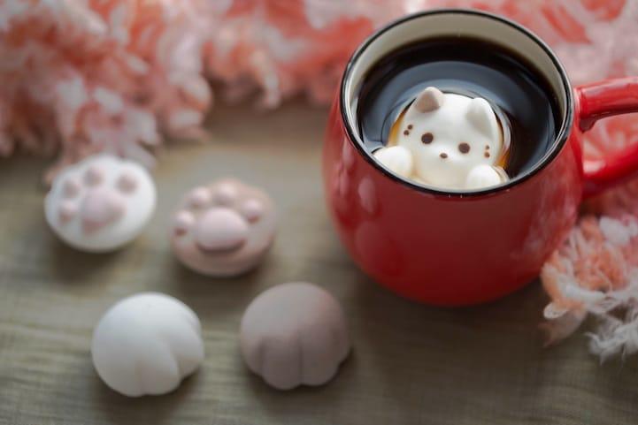 Кофе с зефирками