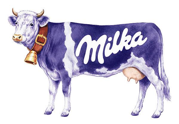 Корова милка