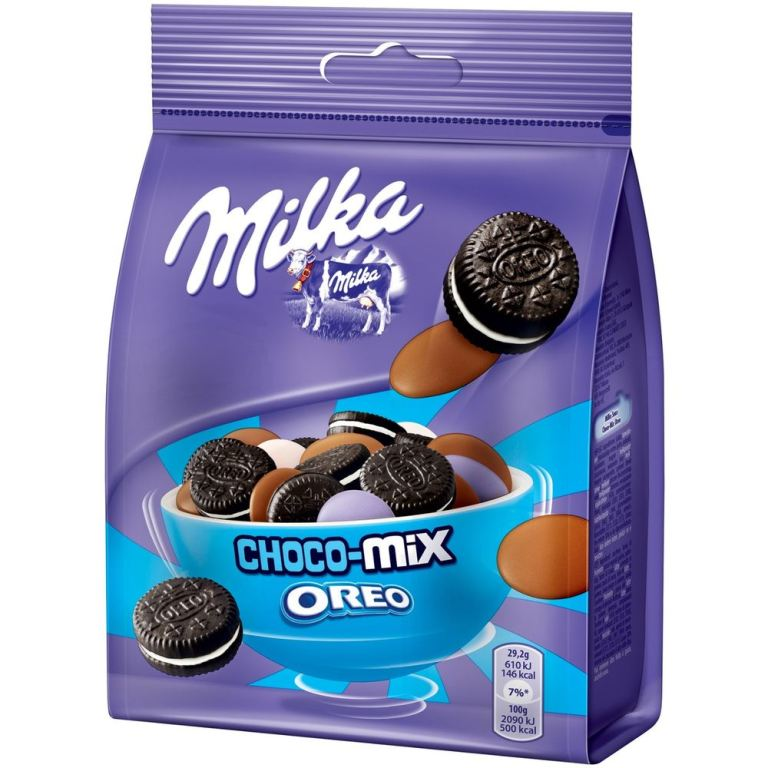 Milka Snax Choco-Mix Oreo