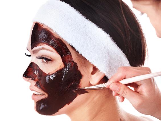 Маска из какао для лица