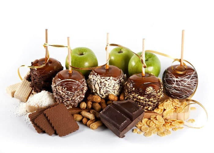 Яблоко в шоколаде