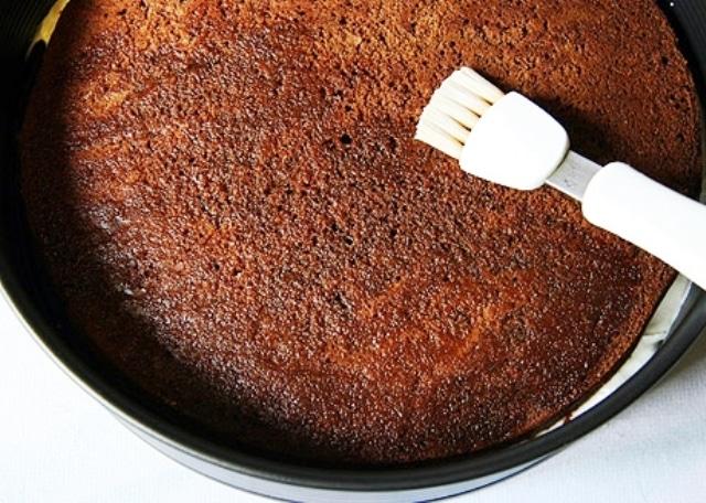 Сборка торта на кипятке