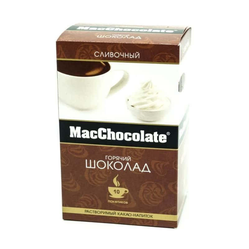 Горячий шоколад в пакетиках