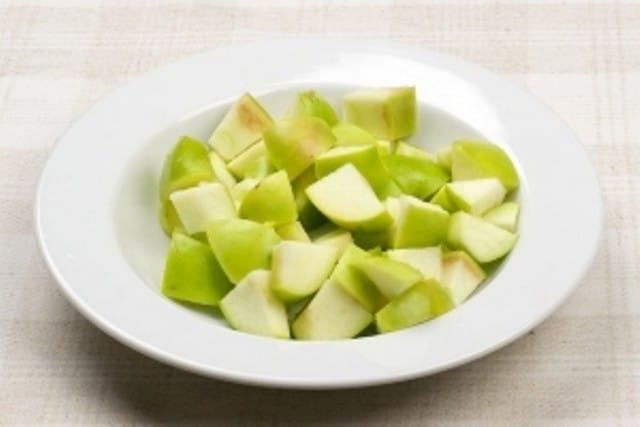 Дольки яблок