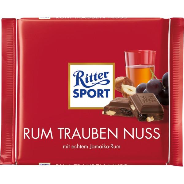 Шоколад риттер спорт Rum Trauben Nuss