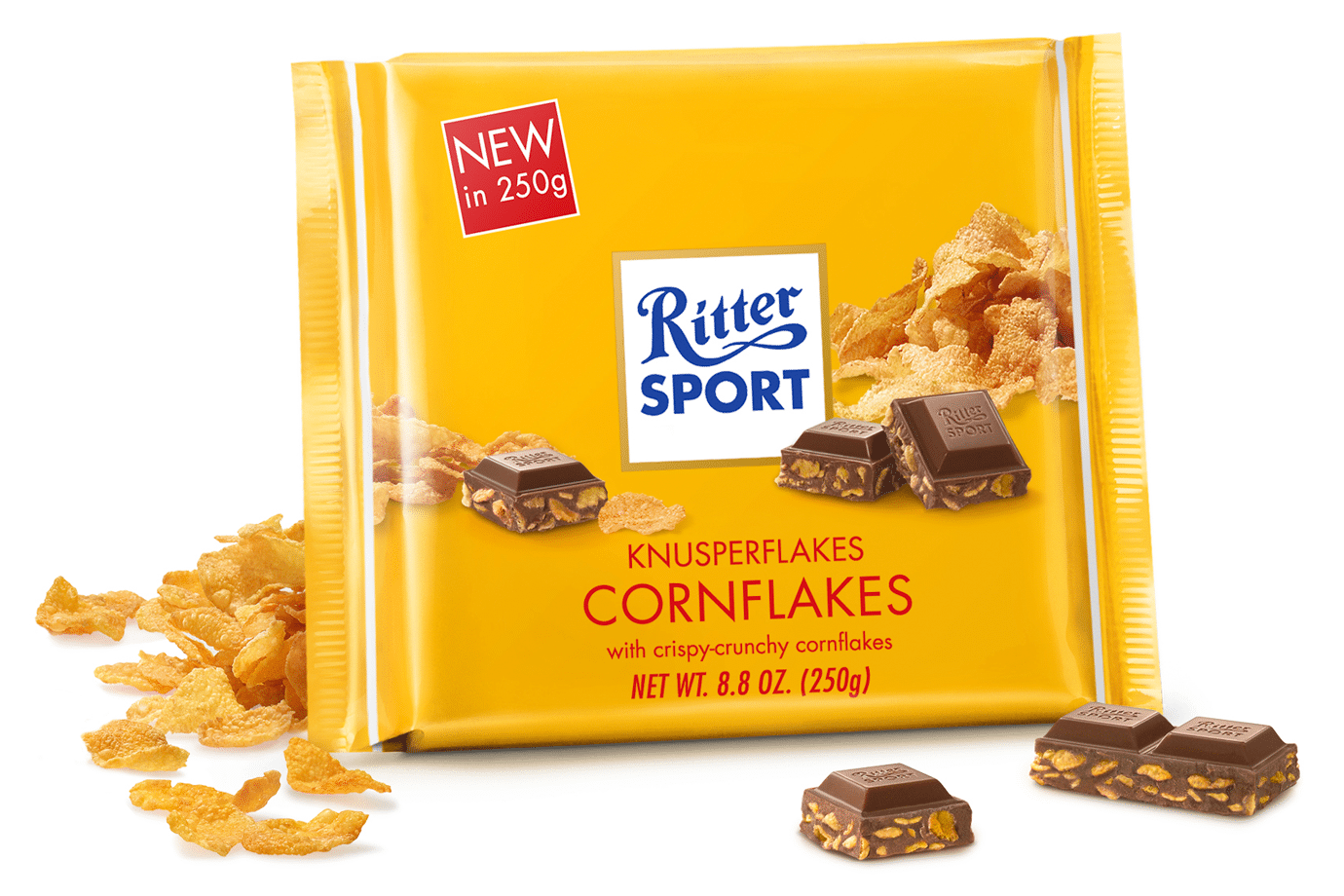 Шоколад ritter sport Knusperflakes