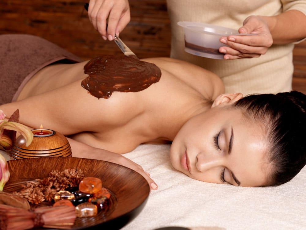 Шоколадная смесь для обертывания