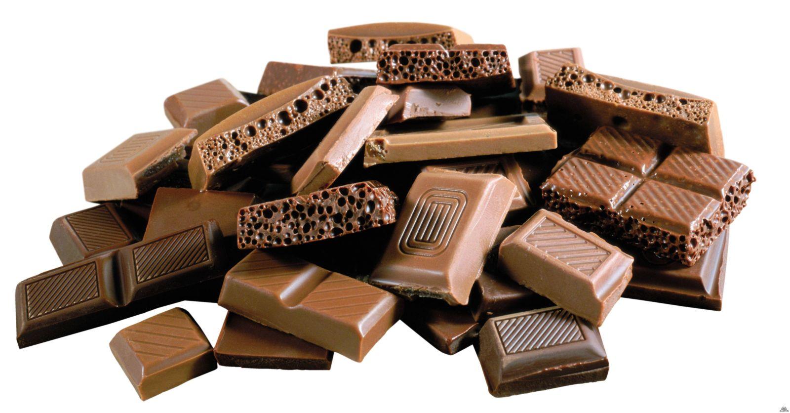 Витамины и минералы в шоколаде
