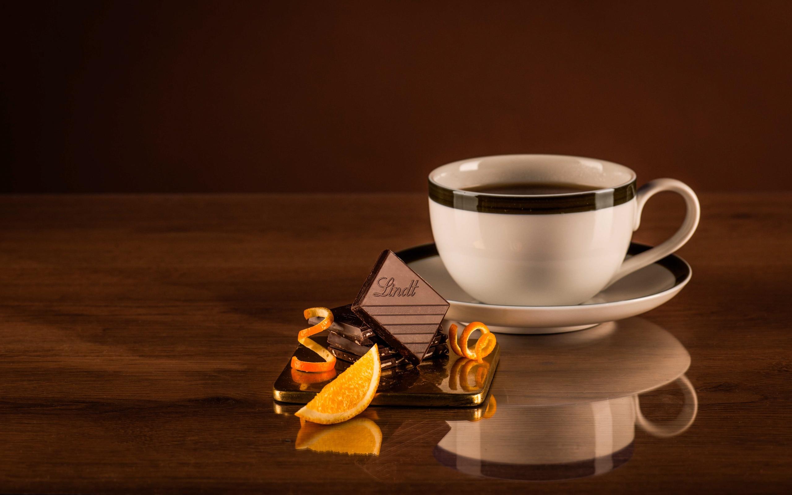 Чай с шоколадом