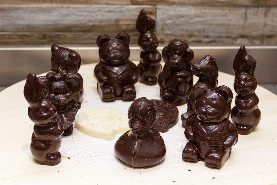 Объемный шоколад