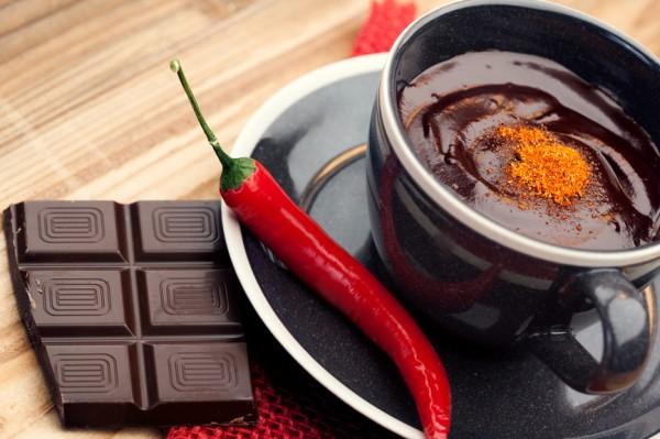 Горячий шоколад со перцем