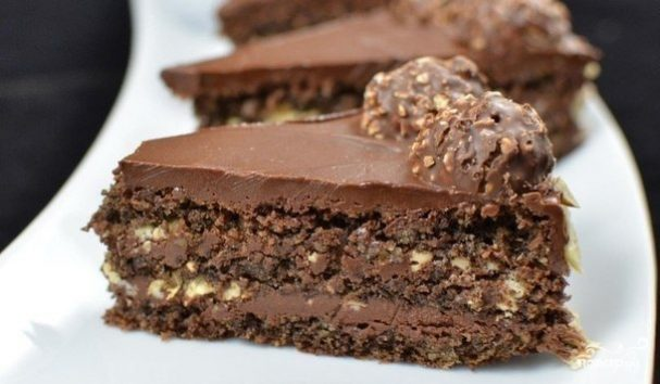 Торт с Ferrero Rocher