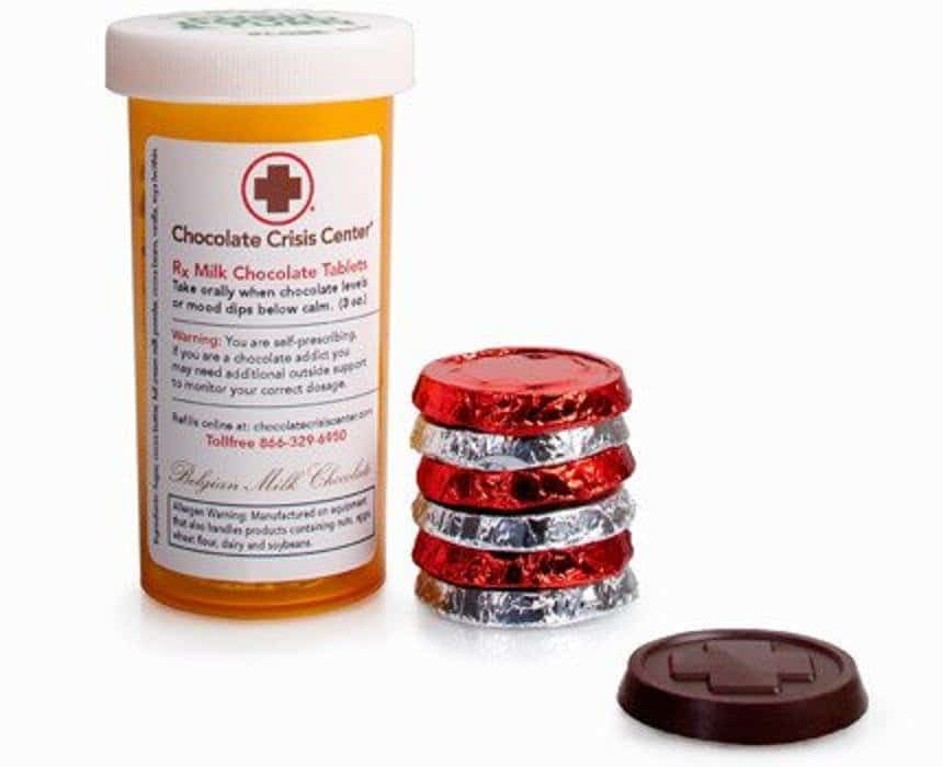 Шоколад в таблетках